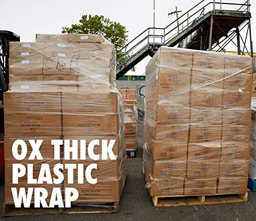 20 Inches X 1000 Feet Roll - Thick 80 Gauge - Plastic Film