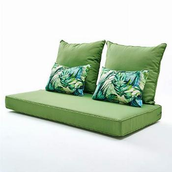 ARTPLAN Bench Pallet Couch Outdoor Cushions 5Pieces a Set