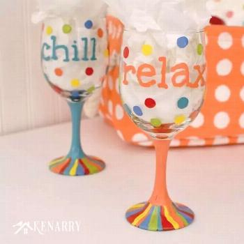 Hand Painted Wine Glasses: How to Make Your Own
