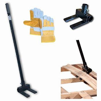 Pallet Buster Deck Wrecker Tool - for Pallet Projects and