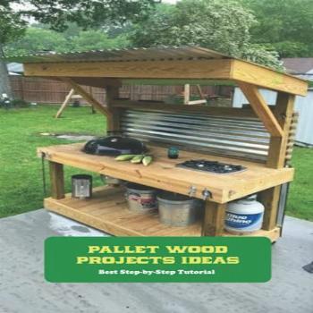 Pallet Wood Projects Ideas: Best Step-by-Step Tutorial: DIY